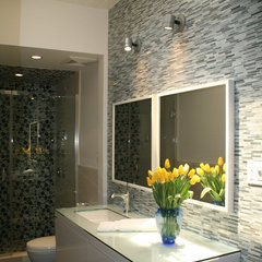 modern bathroom by lori sitz teacher