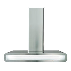 Futuro Futuro 36-inch Integra White Wall Range Hood - Type: Wall-mount