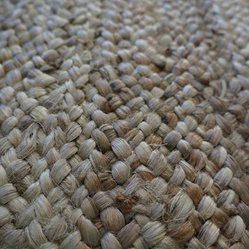Natural Fiber Rugs Amp Carpets The Boucle Jute Shown Here