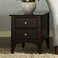 Riverside Cosmopolitan Two Drawer End Table - End Tables at Hayneedle