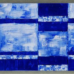 Paragon Decor - High Contrast Artwork - Exclusive Hand Painted Canvas Plaque