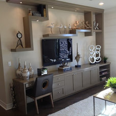 contemporary storage units and cabinets by Custom Closets & More...