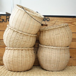 Large Bean Pot Without Handle By jasperjane - I love baskets, because there are so many great uses for them. Holding bath towels, beach towels, toys, magazines and shoes — take your pick!