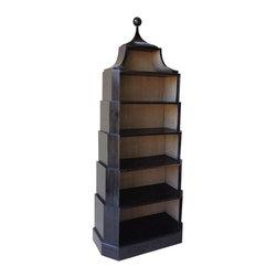 NOIR - NOIR Furniture - Roosevelt Bookcase - GBCS131HB - Features: