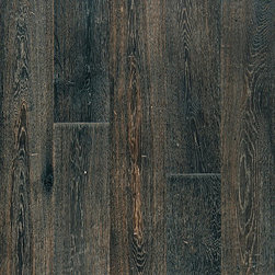 "TEKA PARQUET - French Oak Vintage Ebony Engineered Floating Wood Floor- Sample 8"" x 6"" - This listing is for 1 piece of wood floor samples (8"" x 6"")"