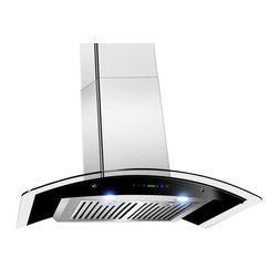 "AKDY - AKDY AK-Z668S3 Euro Stainless Steel Wall Mount Range Hood, Stainless Steel, 30"" - The 30"" wall-mount AKDY 668S3 range hood combines the ultra-sleek European style of AKDY 668is2 with a powerful fan and high-tech design to create the best home range hood money can buy. The 668s3 range hood features dual LED lighting, and 760 cubic feet per minute of air movement from the powerful wall-mount fan, all controlled by the easy-to-use electronic multifunctional touch control. The designer LED lighting emits bright white light, making it easier to see than ever before."