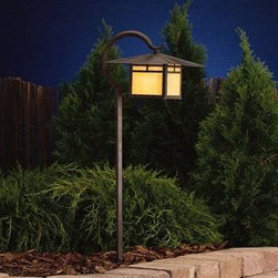"Kichler Lighting 15365CV La Mesa Path Garden Pathway Light, Carré Bronze® - Get 10% discount on your first order. Coupon code: ""houzz"". Order today."