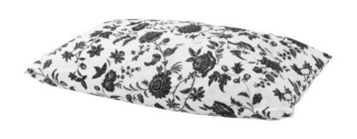 IKEA of Sweden - EKTORP Lumbar cushion - Lumbar cushion, Hovby white/black