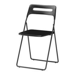 Lisa Norinder - NISSE Folding chair - Folding chair, black