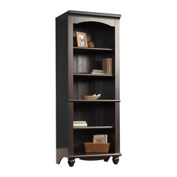 Sauder - Sauder Harbor View Library 5 Drawer Bookcase in Antiqued Paint Finish - Sauder - Bookcases - 401633 - About the Sauder Harbor View collection: