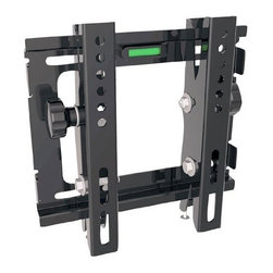"PYLE - PYLE PSW445T 10 in. to 32 in. Flat Panel Tilted TV Wall Mount - Universal Mounts Fits Virtually Any 10"" To 32""Plasma Or LCD Flat Panel Screen.    Universal Brackets Easily Hook Onto The Wall Plate for Fast Installation.    Tilt and Leveling Adjustments.    Built In Leveler System.    Max Load: 77.2lbs.    Vesa: 7.87 x 7.87"".    Distance To The Wall: 2.7"".    Dimension: 9.4"" x 9.1"" x 2.7"".    Package Dimension: 18.3"" x 10.6"" x 9.1"".    Gross/Net Weight: 35.3/26.5 lbs.     Model: PSW445T"