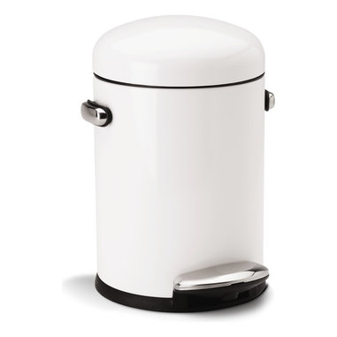 Kitchen Trash Cans Find Trash Can Recycle Bin And Trash Bin Designs   Retro  Step Can