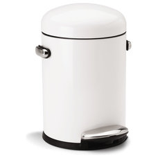 Modern Kitchen Trash Cans by simplehuman