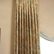 Traditional Curtains by Custom Drapery Designs, LLC.