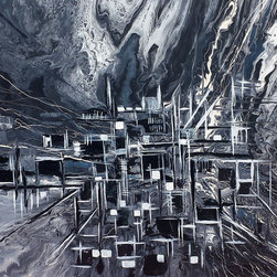 Kozyuk Gallery - Abstract City - Title: Abstract City, 2014