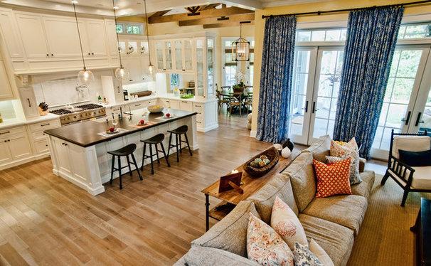 Traditional Kitchen by Jill Wolff Interior Design