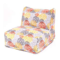 Outdoor Citrus Blooms Bean Bag Chair Lounger