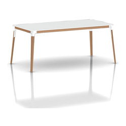Magis Steelwood Rectangular Table