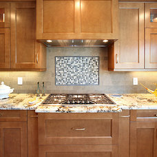 Traditional Tile by LIFESTYLE KITCHENS by The Kitchen Lady