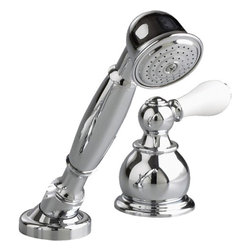 American Standard - American Standard T991.712.002 Hampton Hand Shower Diverter (Trim), Chrome - American Standard T991.712.002 Hampton Hand Shower Diverter (Trim ONLY) , Polished Chrome. This Hand Shower Diverter features porcelain lever diverter handle, personal shower and holder. For use with R890 series valves