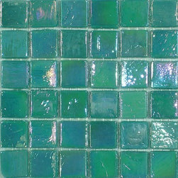 SICIS - SICIS Iridium Fern 3 Mosaic - Modern manufacturing techniques are combined with a centuries-old art form to produce the most comprehensive selection of iridescent glass mosaics available today. 41 exquisite colors offer a one-of-a-kind look designed to elevate any residential or commercial project. Iridium Mosaics inspire a vast array of architectural manipulations in both internal and external coverings. Unlike many other glass mosaics, Iridium Glass Mosaics are mesh mounted for easy and cost effective installation. The natural variations within each color of the glass tiles give these beautiful mosaics a character that can be appreciated only by viewing a larger selection of current lots.