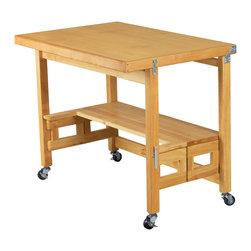Oasis Concepts Oasis Concepts All Wood Flip Amp Fold Desk