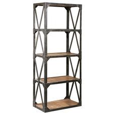 Eclectic Bookcases by Zin Home