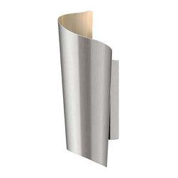 Hinkley Lighting - Hinkley Lighting 2350SS Surf Stainless Steel Outdoor Wall Sconce - Hinkley Lighting 2350SS Surf Stainless Steel Outdoor Wall Sconce