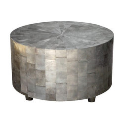 Oly Studio Adeline Coffee Table - This gorgeous and intricate coffee table will add silver shine to your living room. Just make sure you buy some stylish coasters so that no one ever leaves a red wine ring on it – that could be a friendship-ender!