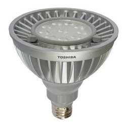 Toshiba - Toshiba LED 20P38-830FL35 - Toshiba�s LED lighting products last up to 25 times longer than incandescent and halogen lamps. Our LED lamps do not contain lead or mercury, are manufactured using recycled/recyclable materials and use up to 85% less energy compared to traditional lamp so Toshiba LED Lightbulb Model Number 20P38-830FL35|PAR38 Series|120 Volt| 20.3 Watt|3000K CCT Color Temperature|Flood Beam Angle|E26 Base Cap|Direct replacement for 70 to 110-watt halogen lamps|Rated life of 40,000 hours|Dimmable|No mercury or lead|Dimmable|Put to rigorous testing standards|Rated for both damp locations and enclosed fixtures|Emits up to 70% less UV light compared to halogen lamps|Manufactured to ENERGY STAR specifications  This item cannot ship to APO/FPO addresses.  Please accept our apologies.
