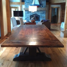 Contemporary Dining Tables by Marcelville Custom Cabinets