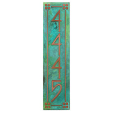 Craftsman House Numbers by Atlas Signs and Plaques