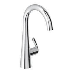 Grohe - Grohe 30026000 Basin/Pillar Tap In Starlight Chrome - Grohe 30026000 from the Ladylux Faucet Collection follows the tradition of the original Ladylux, the first kitchen faucet in the United States with a pull out spray. With a contemporay design to match neary any design and a dual spray trigger style spray control and SilkMove technology for improved performance. The Grohe 30026000 is a Basin/Pillar Tap With a dazzling and highly reflective Chrome finish.