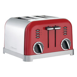 Cuisinart - Cuisinart 4-Slice Metal Classic Toaster - Dual control panels for separate cooking settings