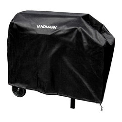 "Landmann - Black Dog 28"" Cover (Black PVC With Polyster) - -Designed specifically for BLACK DOG 590130 and 590131 Grills"
