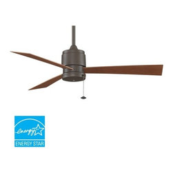 "Fanimation - Fanimation Zonix Outdoor 52"" 3 Blade Energy Star Outdoor Ceiling Fan - Blades In - Included Components:"