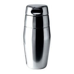 Alessi - Alessi Cocktail Shaker - This sumptuous shaker is an important staple for any suave cocktail party. Its fluid silhouette stands beautifully on your countertop, allowing you to create classic concoctions, all while embracing a modern aesthetic.