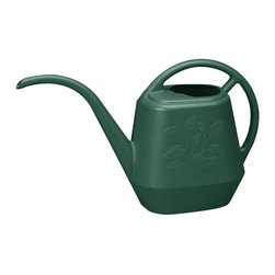 Bloem - Bloem 144oz. Aqua Rite Watering Can Midsummer Night Green JW4152, 6 pack - Perfect for indoor plants