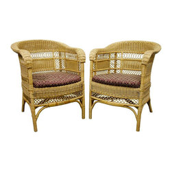 Wicker Chairs From -
