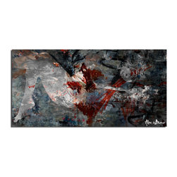 Ready2HangArt - Ready2hangart Alexis Bueno Silhouette' Canvas Wall Art - This oversized abstract canvas art set is the perfect addition to any contemporary space. It is fully finished, arriving ready to hang on the wall of your choice.