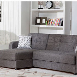Vision Diego Gray Sectional Sofa -