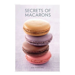 Murdoch Books - Secrets of Macarons by Jose Marechal Hardcover Book - French chef Jose Marechal discloses tips and techniques you need to make these little treatsBook chapters includes techniques, ingredients and basic equipment to prepare macarons at homeFeatured recipes include the classic flavors: chocolate, strawberry, vanilla to the more sophisticated ones decorated with gold powder. Each recipe includes color photographs of the finish product. An excellent book for those who want to learn who to make macarons. English edition published on November 2010.112 pages. Hardcover.