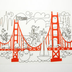 Kidz Box, Fun on the Golden Gate + Markers