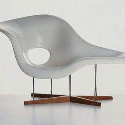 La Chaise by Charles and Ray Eames from Vitra