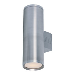 Maxim Lighting - Maxim Lighting 86102Al Lightray 2-Light Led Wall Sconce - Maxim Lighting 86102AL Lightray 2-Light LED Wall Sconce