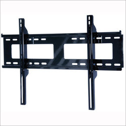 "Peerless - Peerless 32""-50"" Universal Flat Wall Mount - Easily install large screens with this simple, intuitive mounting solution. Cables and cords are easily managed behind the screen with large access ports in the wall plate. For perfect screen positioning, center the screen by smoothly sliding it along the  Universal mount accommodates screens with mounting patterns up to 28.75� W x 17.05� H