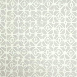 Trellis Fabric - Available in a variety of colors in white linen and upholstery linen.