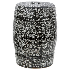 Contemporary Accent And Garden Stools by Oriental Furniture