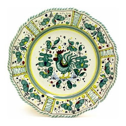 Artistica - Hand Made in Italy - Orvieto: Charger Buffet Platter - Orvieto Collection: This is a very old and traditional pattern that originated during the Renaissance in the hill-top town of Orvieto - Italy.