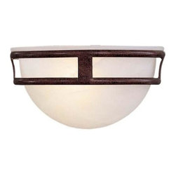 Minka-Lavery - Minka-Lavery 1-Light Wall Sconce - 839-91 - This 1-Light Wall Light has a Bronze Finish and is part of the Pacifica Collection. It is ADA Compliant.